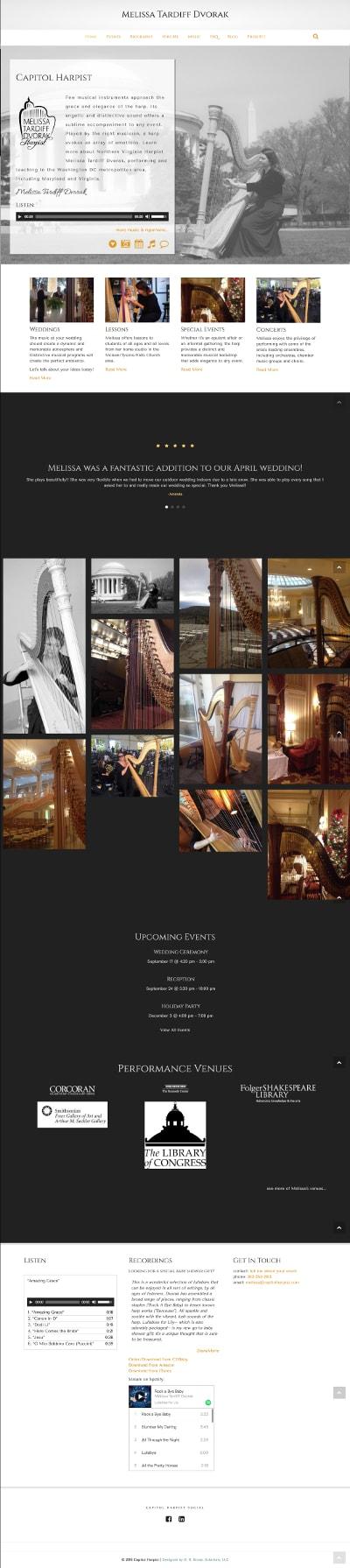 Capitol Harpist